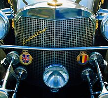 1984 Excalibur Roadster Grille and Emblems by Jill Reger