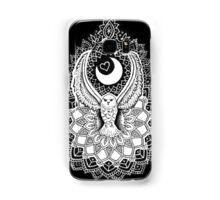 Luna Owl Mandala  Samsung Galaxy Case/Skin