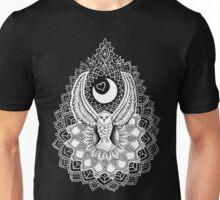 Luna Owl Mandala  Unisex T-Shirt