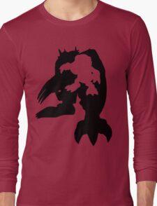 Wargreymon Digivolution Long Sleeve T-Shirt