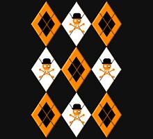 Orange Argyle Clockwork Unisex T-Shirt