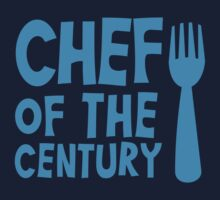 CHEF of the CENTURY! with kitchen fork by jazzydevil