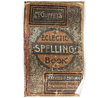 Eclectic Spelling Book Poster