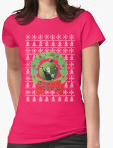 Black Christmas Womens Fitted T-Shirt
