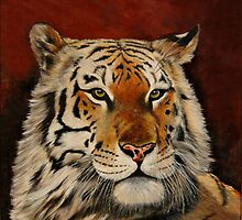 A Regal Tiger by Chris J Worden Gregg