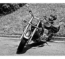 Riding in the Danger Zone Photographic Print