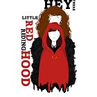 Hey There Little Red Riding Hood by aribh