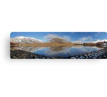 Camp Lake  Canvas Print