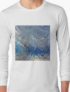 freeze glass with trees Long Sleeve T-Shirt