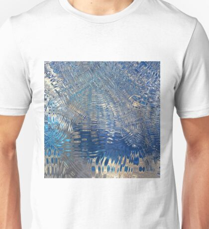 freeze glass with trees Unisex T-Shirt