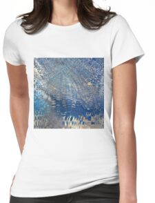 freeze glass with trees Womens Fitted T-Shirt