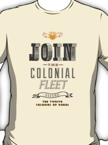 Defend The Twelve Colonies of Kobol T-Shirt
