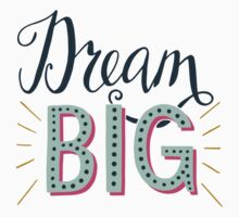 Dream Big One Piece - Long Sleeve