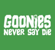 Gonnie Never Say Die Kids Clothes