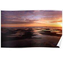 Sunset On The Horizon Poster
