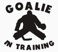 Goalie In Training Kids Clothes