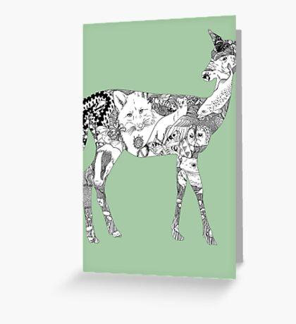 My Wild Side  Greeting Card