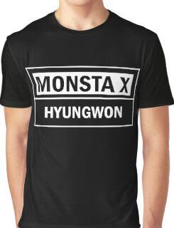 MONSTA X HYUNGWON Graphic T-Shirt