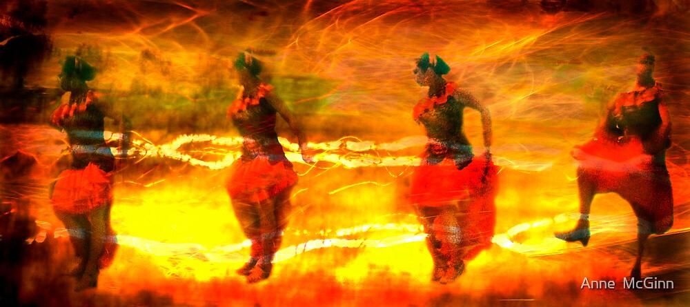Chispas de fuego by Anne  McGinn