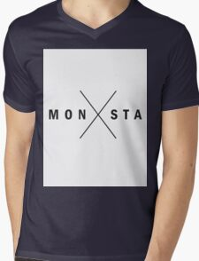monsta X RUSH Mens V-Neck T-Shirt