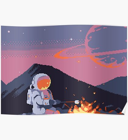 Stranded Astronaut  Poster