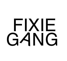 Fixie gang black Photographic Print