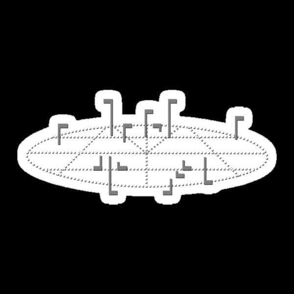 Elite - Radar by Stuart Hogton