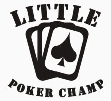Little Poker Champ Kids Tee