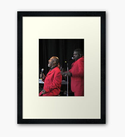 Harold Melvin's Blue Notes Framed Print