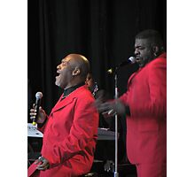 Harold Melvin's Blue Notes Photographic Print