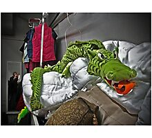 Slithering Dragon Photographic Print