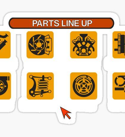 Gran Turismo 2 Tune Menu Sticker