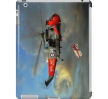 Royal Navy Search and Rescue (End of an Era) iPad Case/Skin