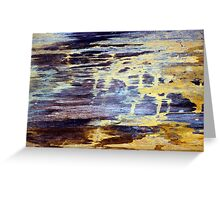 Wood Grain Stains 2 Greeting Card