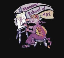 Monster School of Art by didielicious