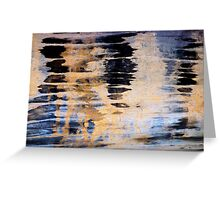 Wood Grain Stains 3 Greeting Card