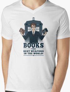 Books Mens V-Neck T-Shirt