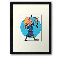 elven archer. Framed Print