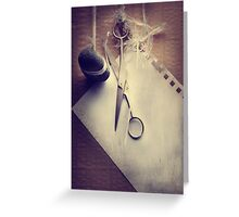Rock, Paper, Scissors Greeting Card