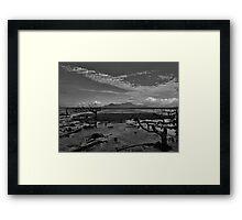 Coastal Mordor! Framed Print