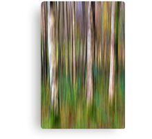 Into the Woods - Digital Art Canvas Print
