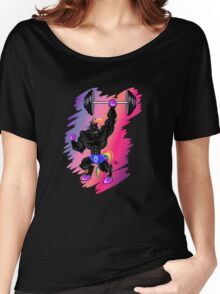MAGICAL MUSCLE - BUFF UNICORN Women's Relaxed Fit T-Shirt