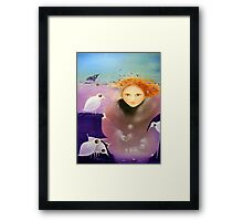 Overcoming Autumn Depression Framed Print