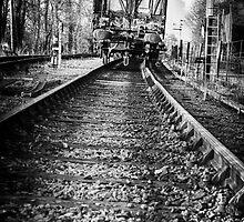 Dark train coming by Nicola Smith