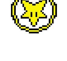 8 bit pentagram by philtomato