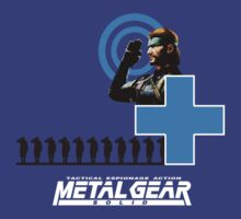 Metal Gear Solid - Salute by QuestionSleepZz