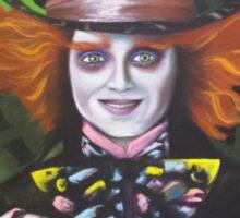 Mad Hatter - Alice Sticker