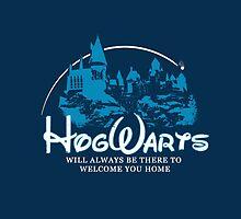 Hogwarts is My Home by necessarymerch
