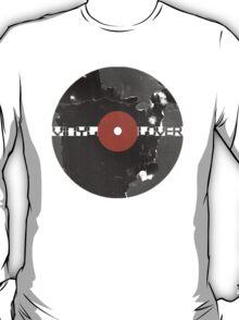 Vinyl Records Lover - Grunge Vinyl Record T-Shirt T-Shirt