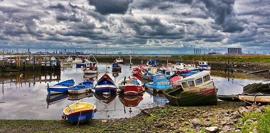 The Fishing Fleet by Trevor Kersley
